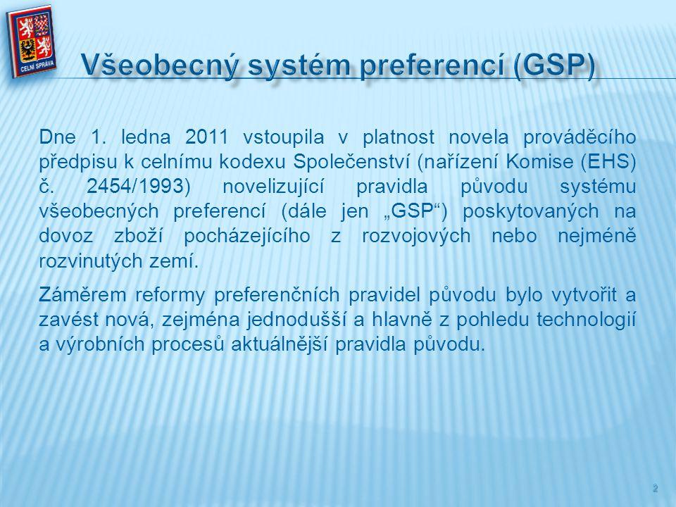 Všeobecný systém preferencí (GSP)