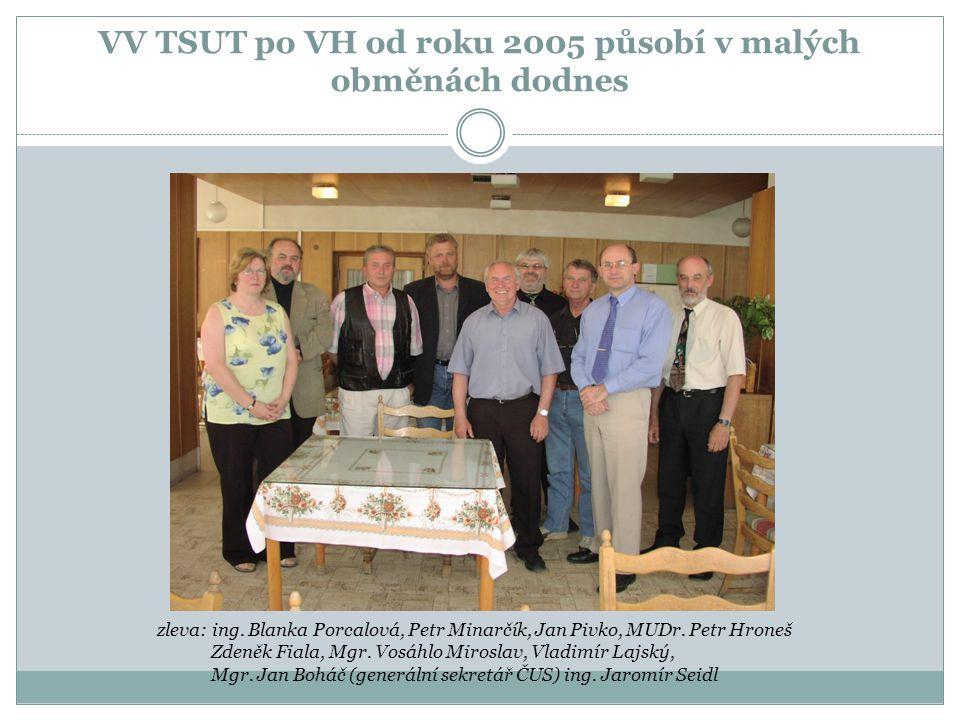 VV TSUT po VH od roku 2005 působí v malých obměnách dodnes