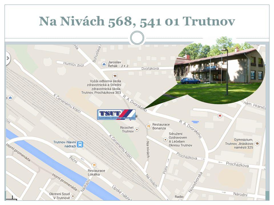 Na Nivách 568, 541 01 Trutnov