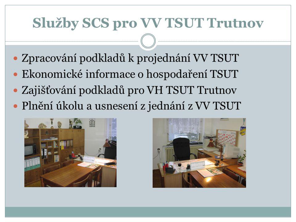 Služby SCS pro VV TSUT Trutnov