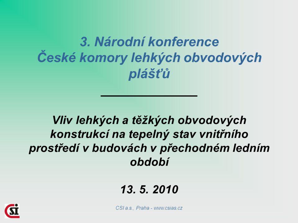 CSI a.s., Praha - www.csias.cz
