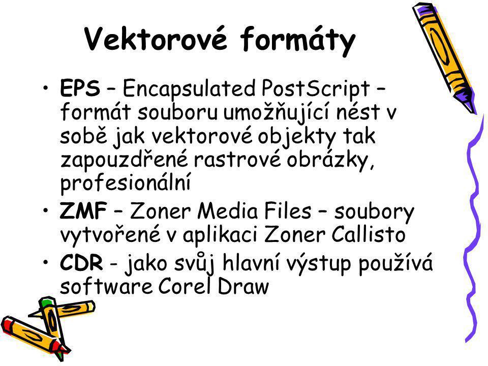 Vektorové formáty