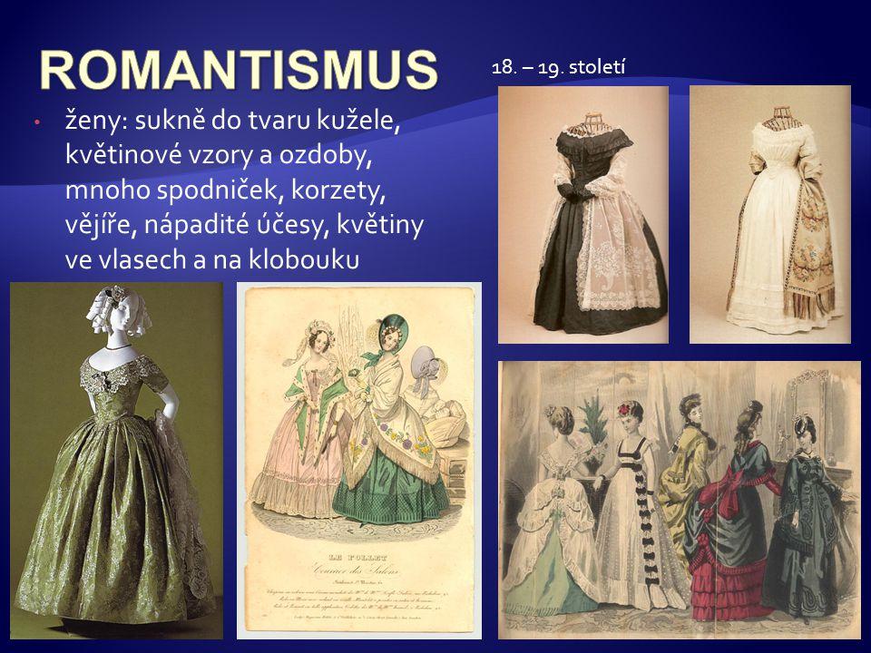 ROMANTISMUS 18. – 19. století.