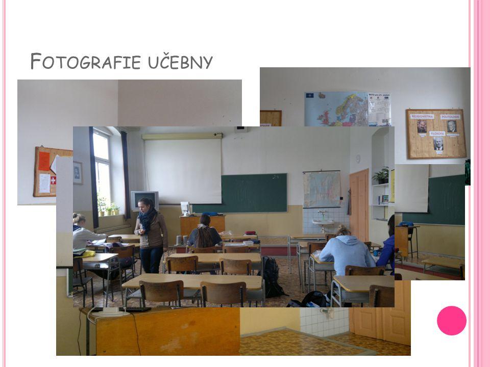 Fotografie učebny