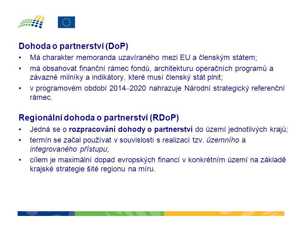 Dohoda o partnerství (DoP)