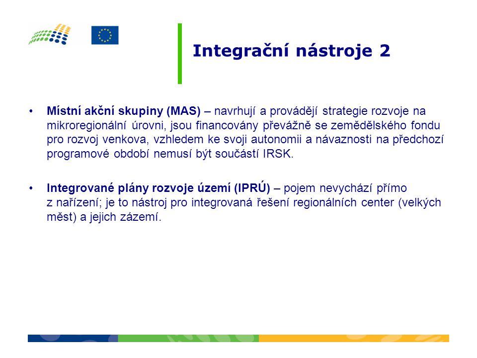 Integrační nástroje 2