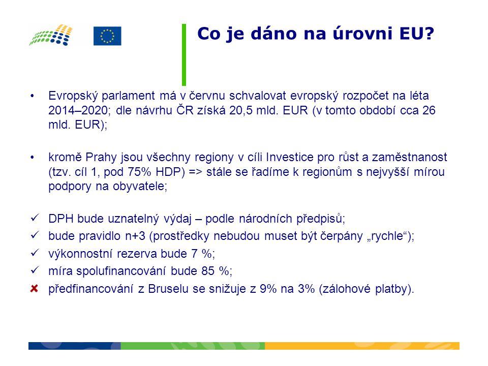 Co je dáno na úrovni EU