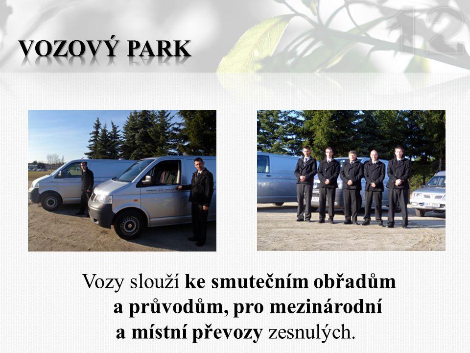 12 Vozový park.