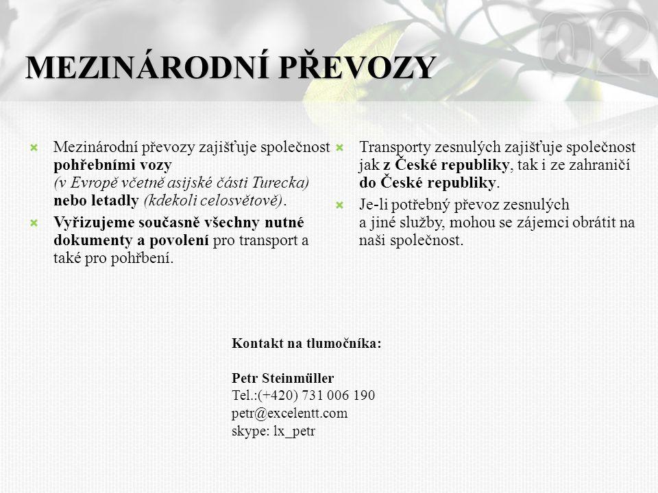 02 MEZINÁRODNÍ PŘEVOZY.