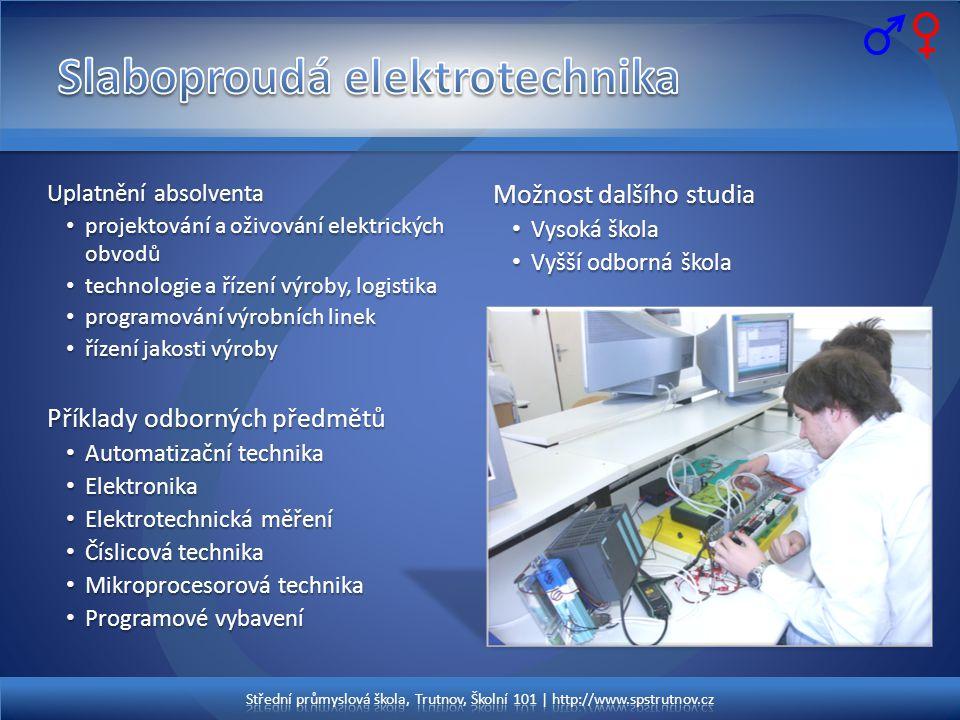 Slaboproudá elektrotechnika