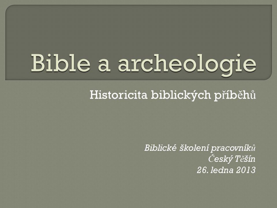 Historicita biblických příběhů