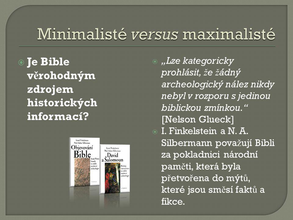 Minimalisté versus maximalisté