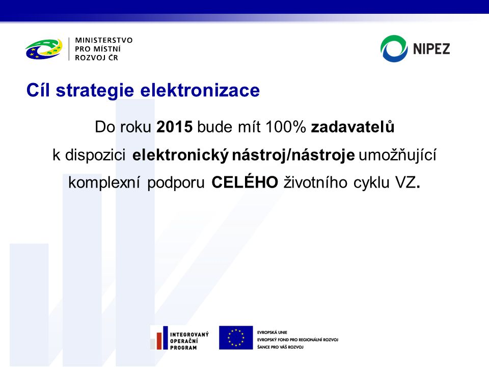Cíl strategie elektronizace