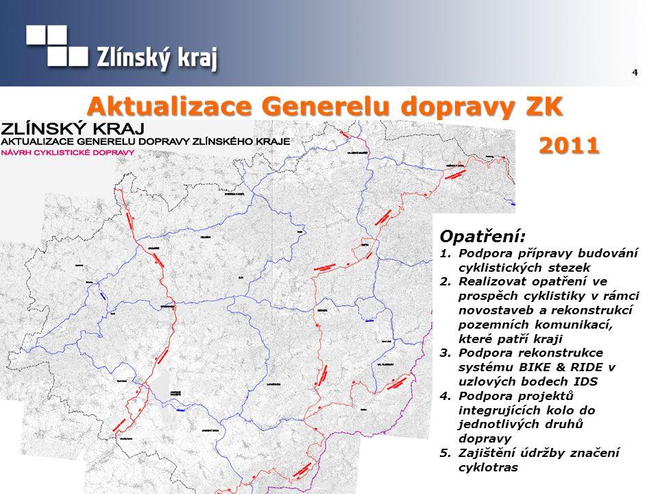 Aktualizace Generelu dopravy ZK