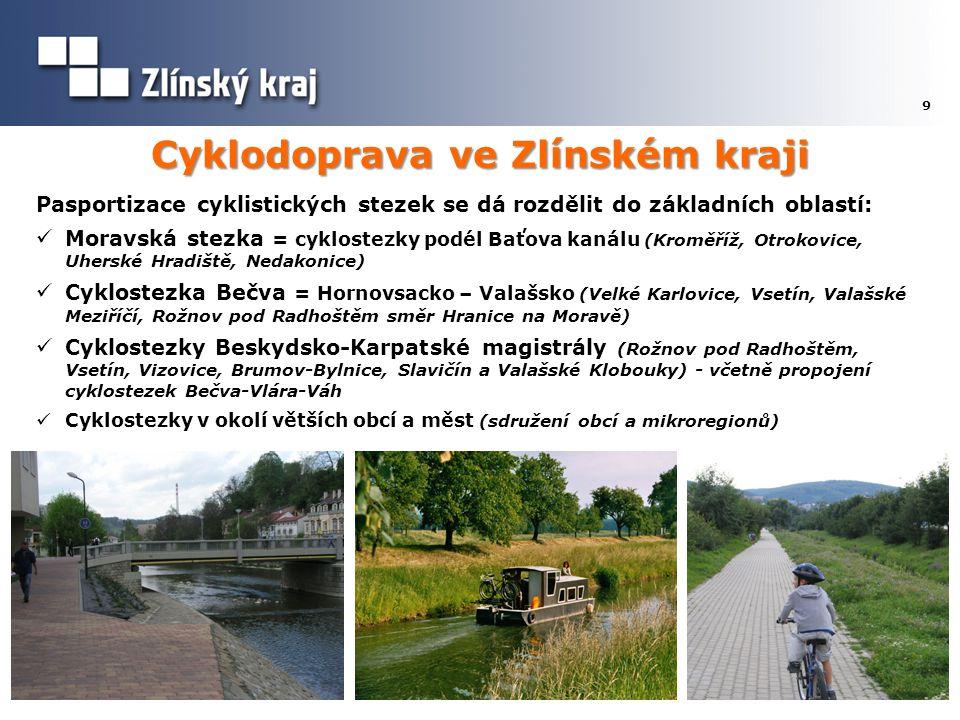 Cyklodoprava ve Zlínském kraji