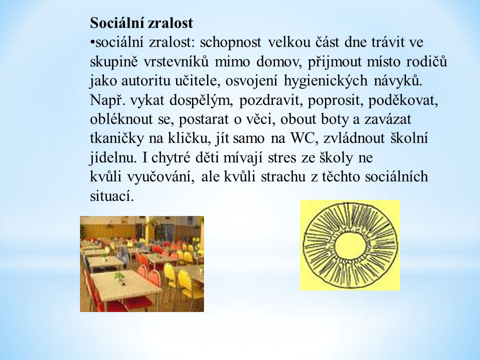 Sociální zralost
