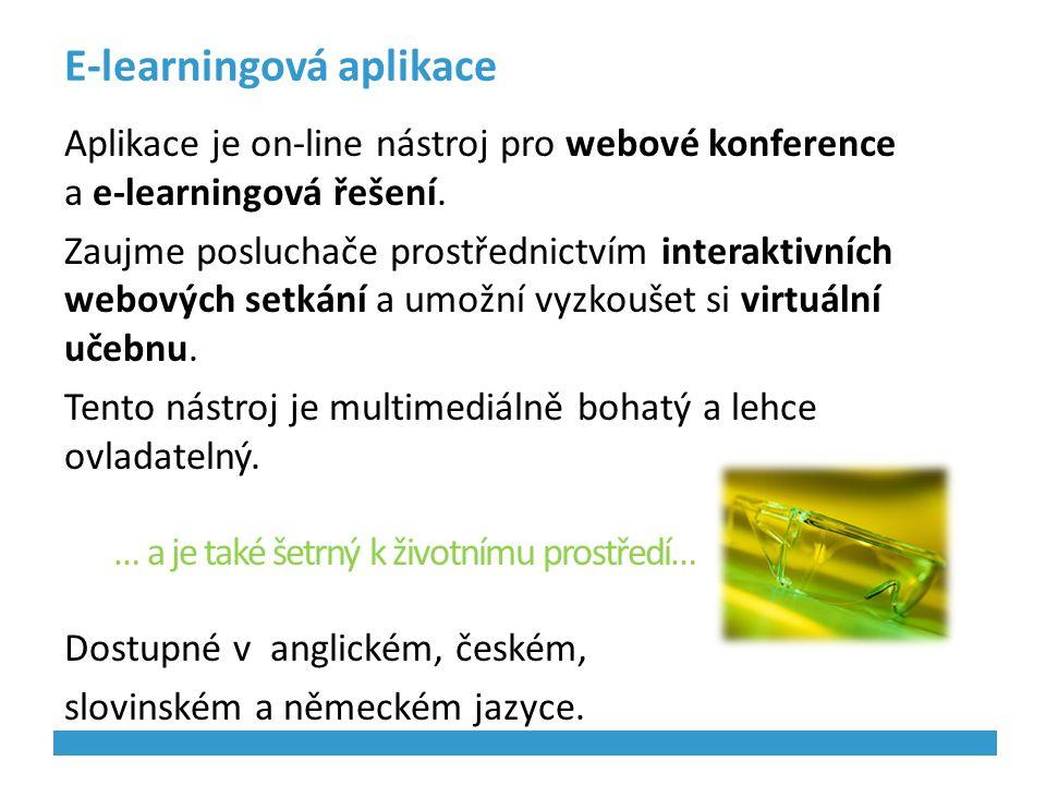 E-learningová aplikace