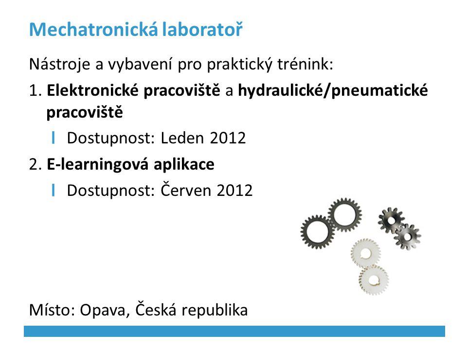 Mechatronická laboratoř
