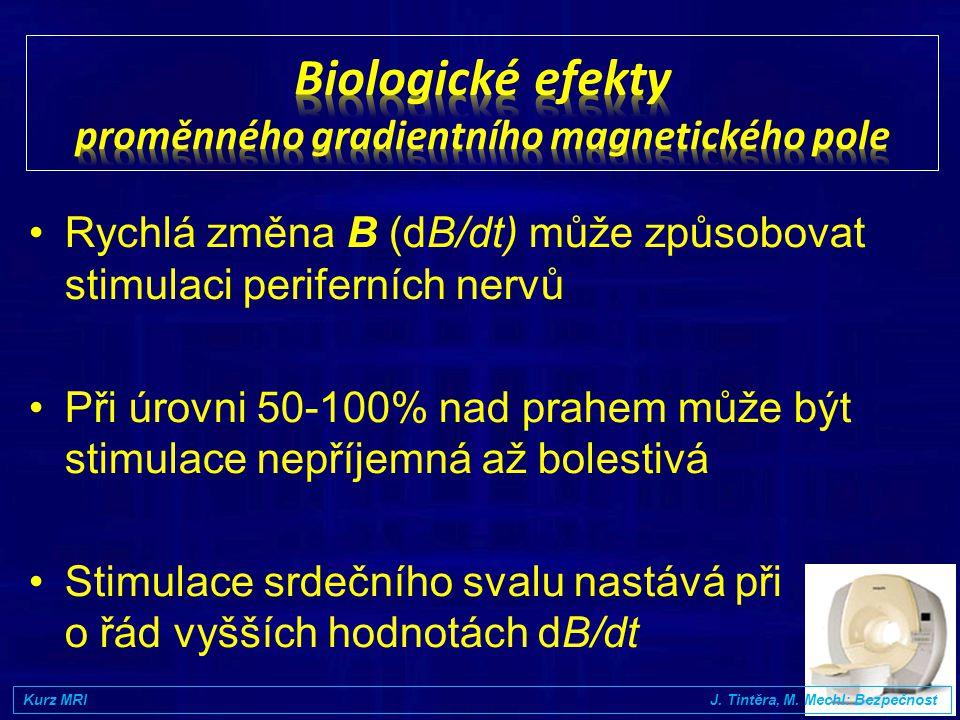 Biologické efekty proměnného gradientního magnetického pole