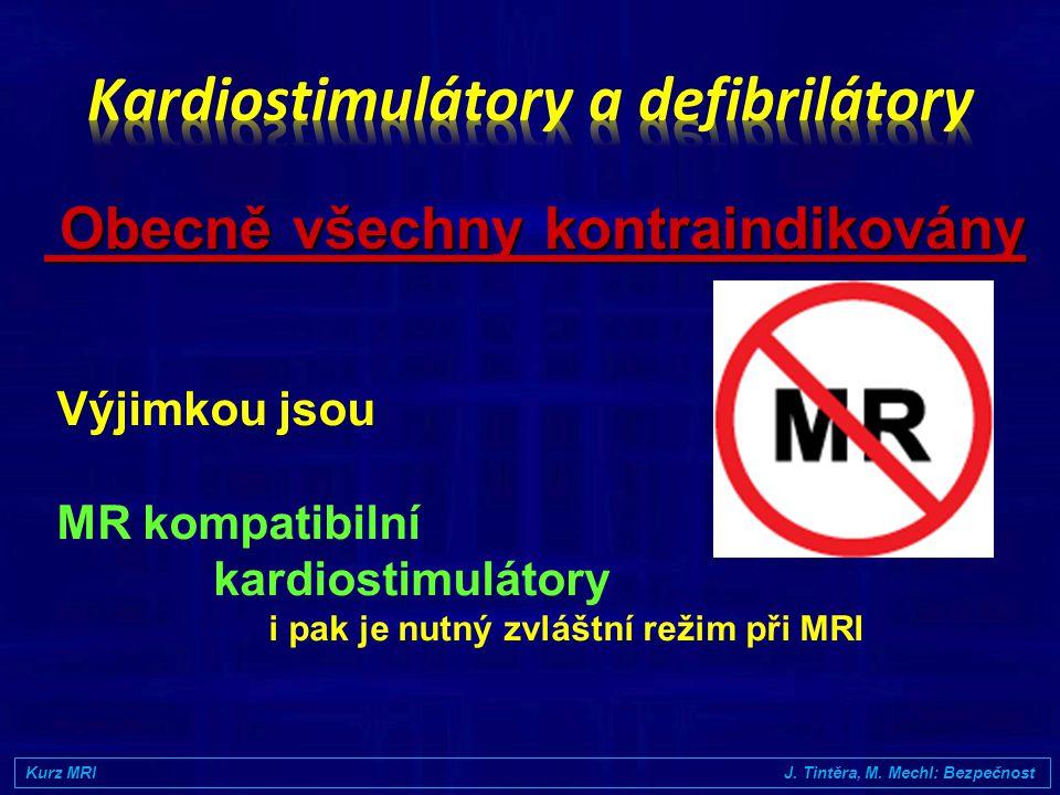 Kardiostimulátory a defibrilátory