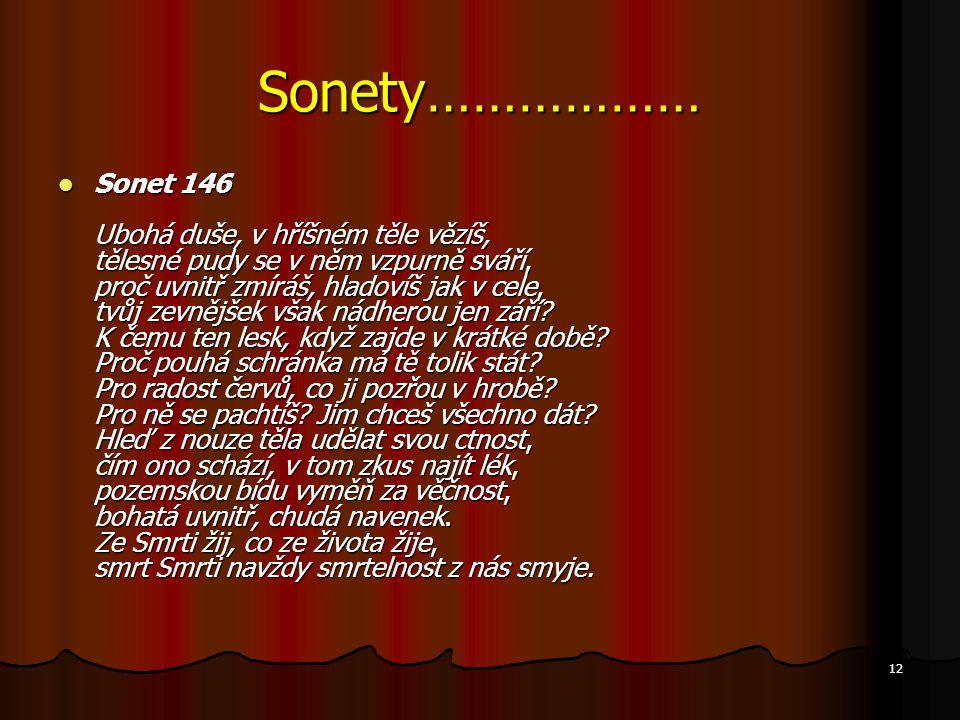 Sonety………………