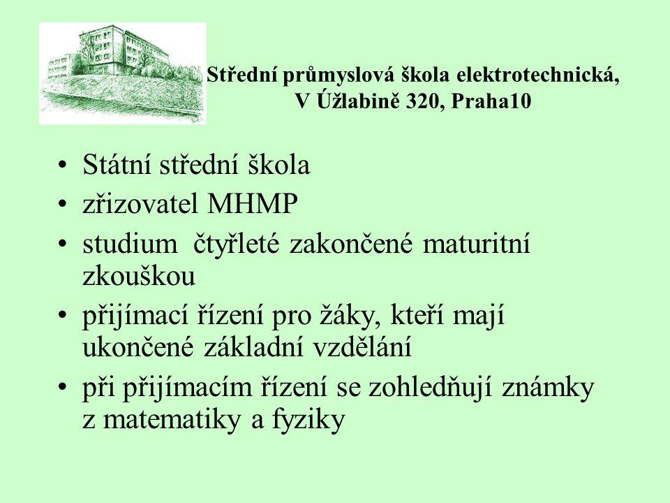 Střední průmyslová škola elektrotechnická, V Úžlabině 320, Praha10