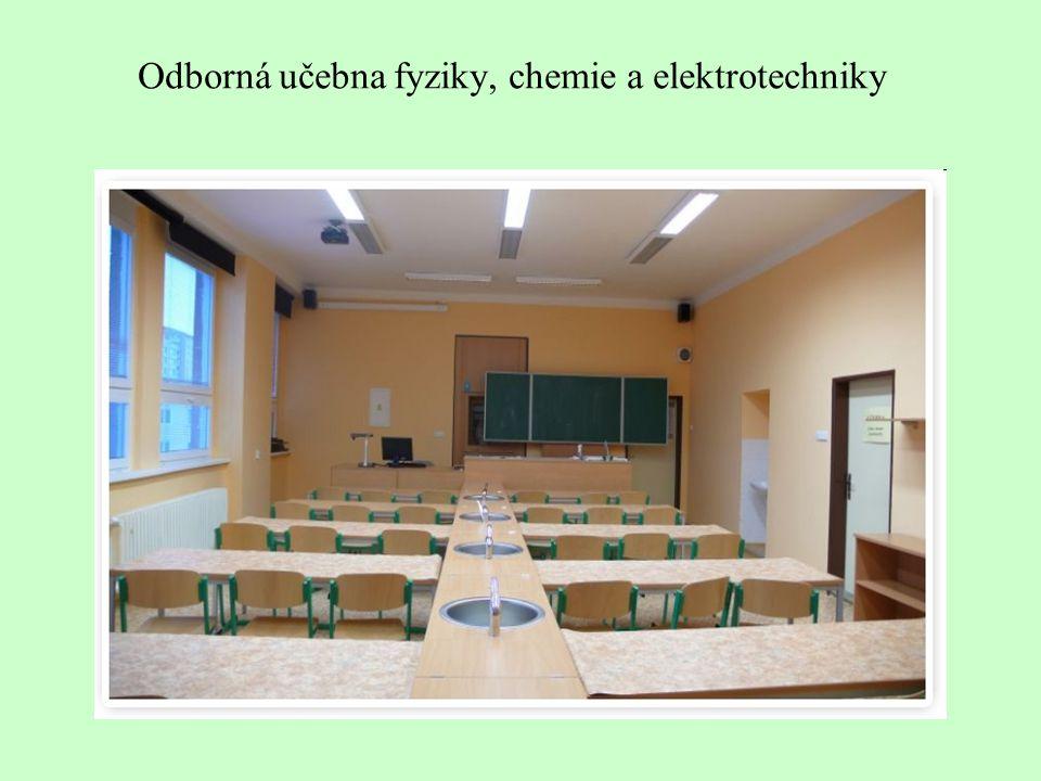Odborná učebna fyziky, chemie a elektrotechniky