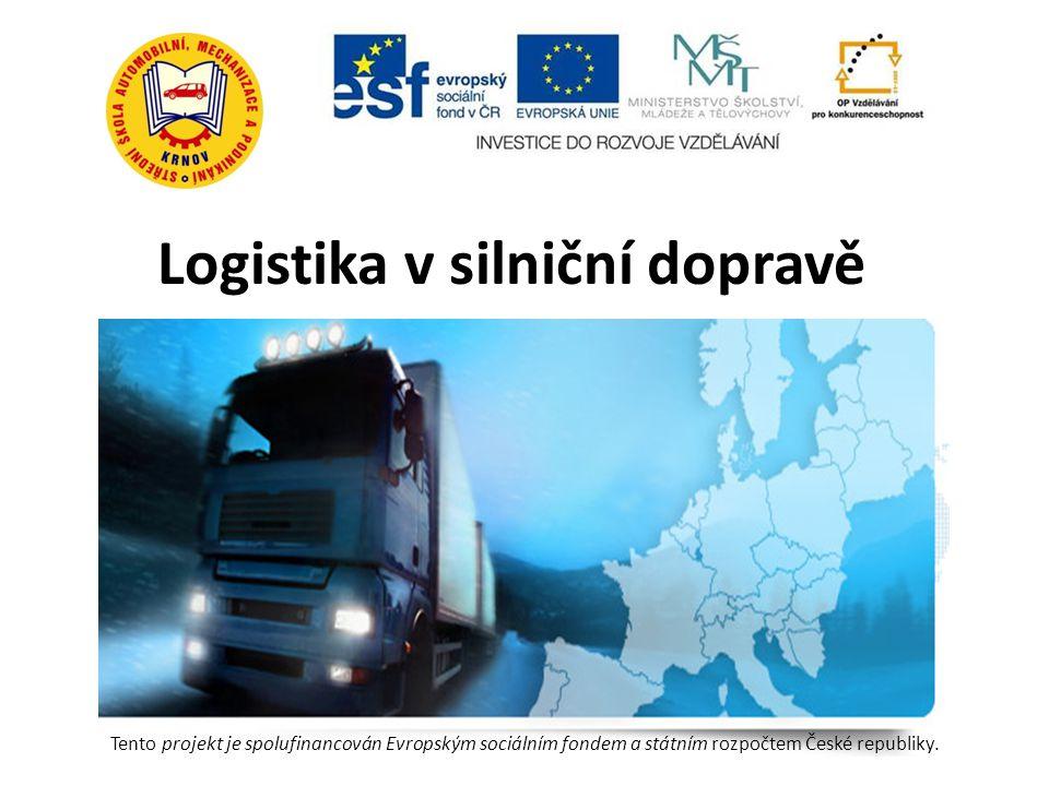 Logistika v silniční dopravě