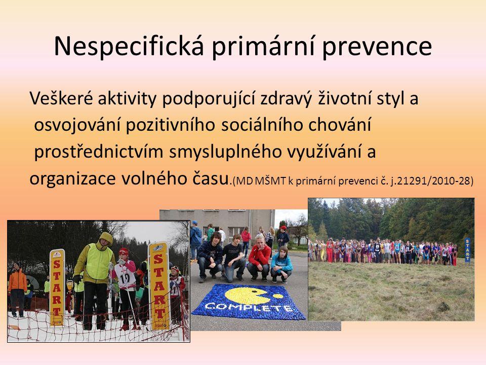 Nespecifická primární prevence