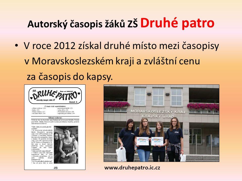 Autorský časopis žáků ZŠ Druhé patro