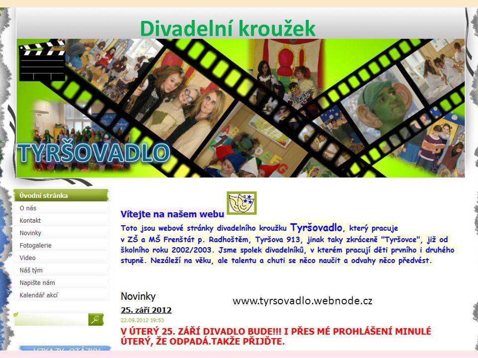Divadelní kroužek www.tyrsovadlo.webnode.cz