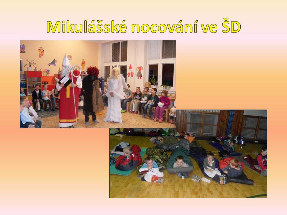 Mikulášské nocování ve ŠD
