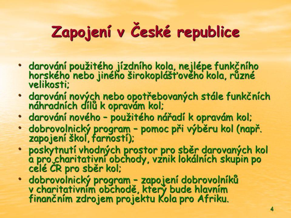 Zapojení v České republice