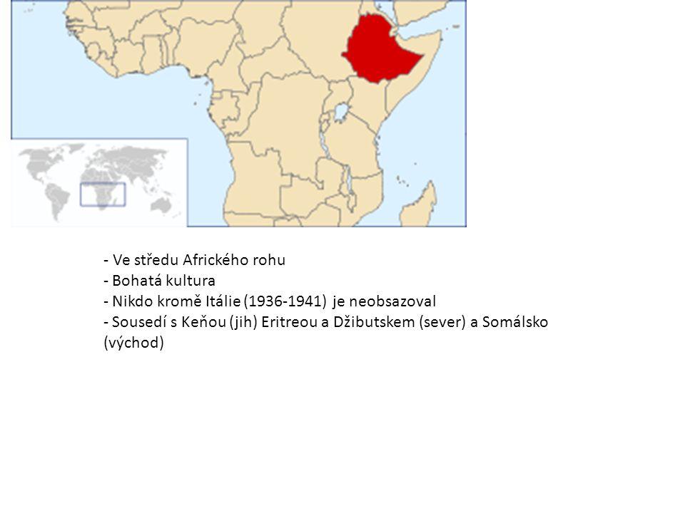 - Ve středu Afrického rohu