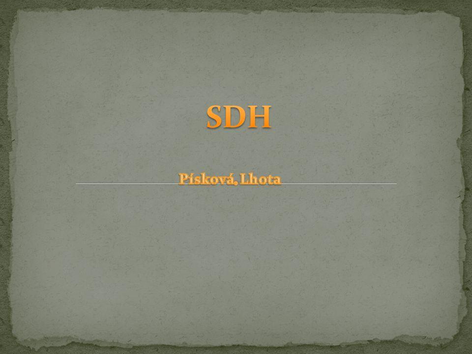 SDH Písková Lhota