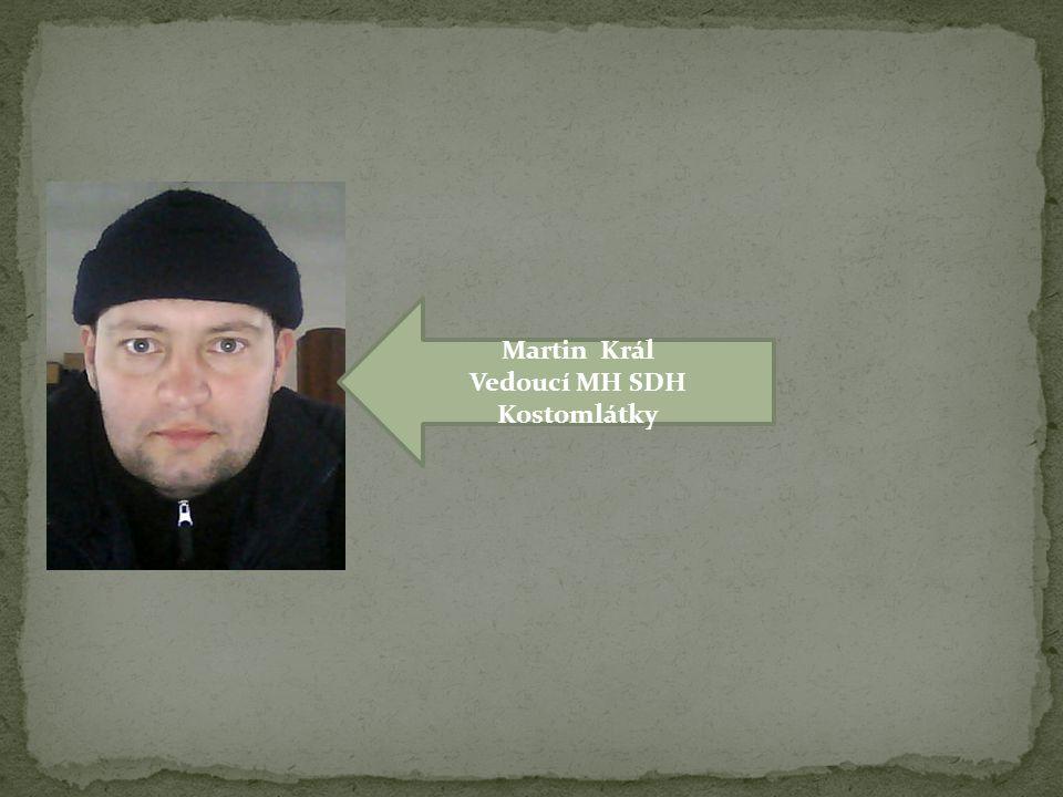 Vedoucí MH SDH Kostomlátky