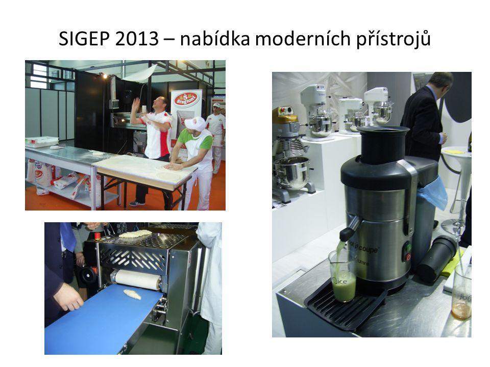 SIGEP 2013 – nabídka moderních přístrojů