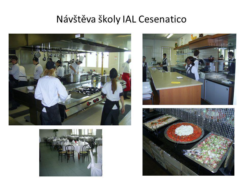 Návštěva školy IAL Cesenatico
