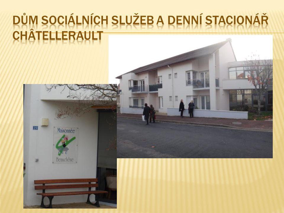 dům sociálních služeb a denní stacionář chÂtellerault