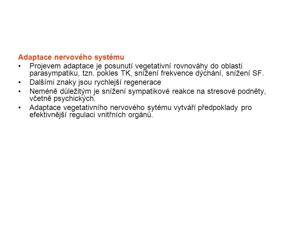 Adaptace nervového systému