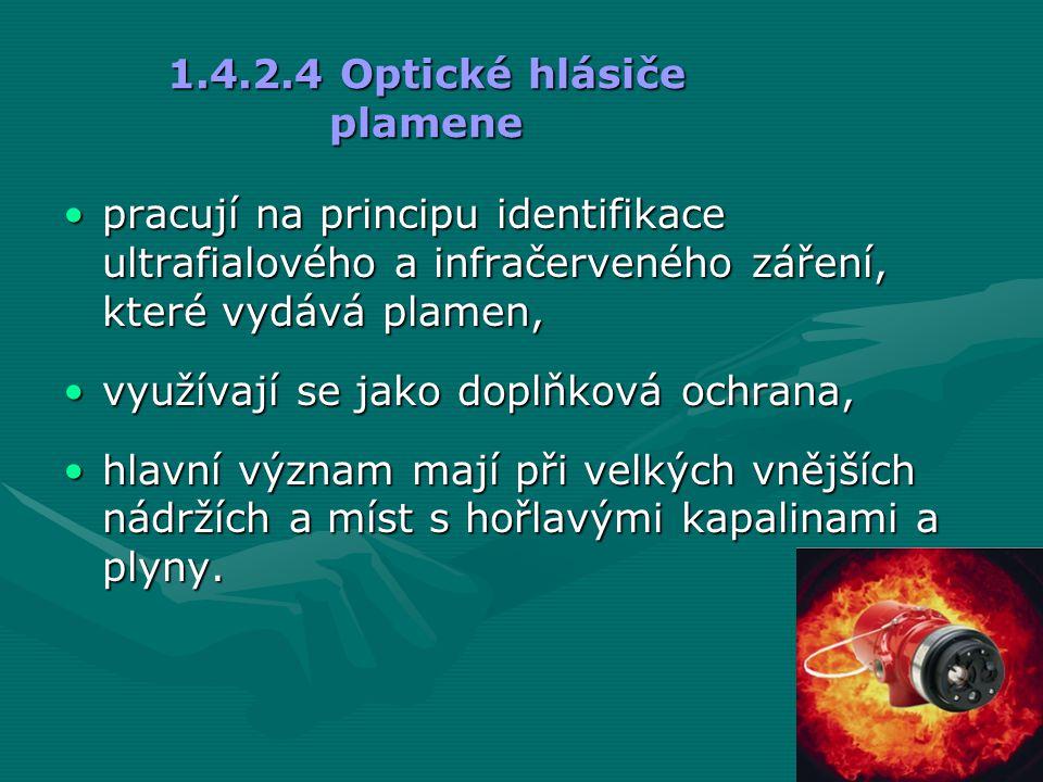1.4.2.4 Optické hlásiče plamene