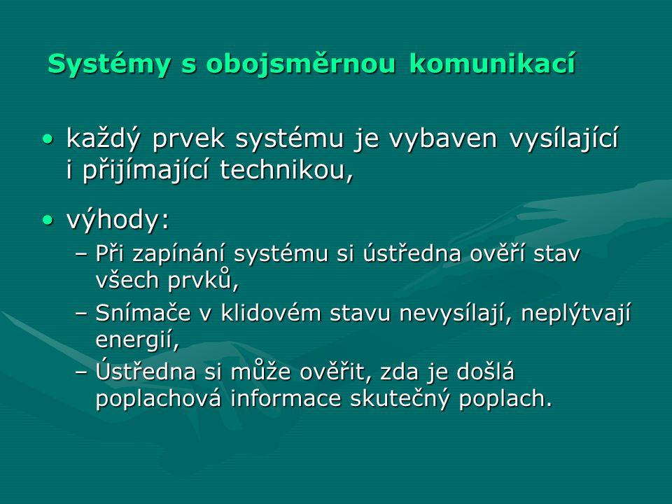 Systémy s obojsměrnou komunikací