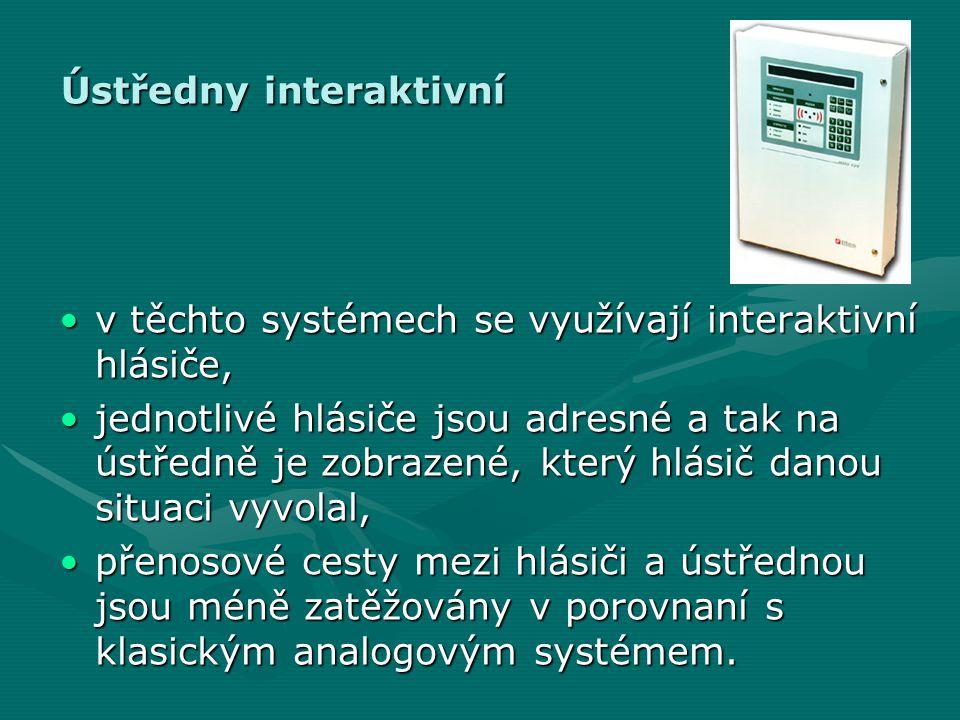Ústředny interaktivní