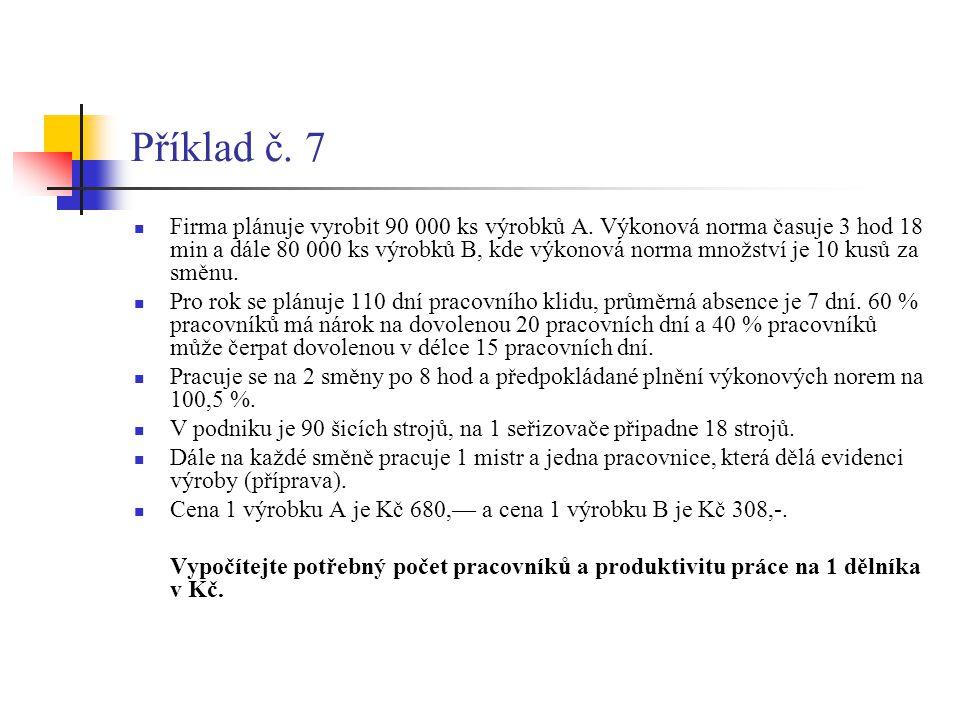 Příklad č. 7