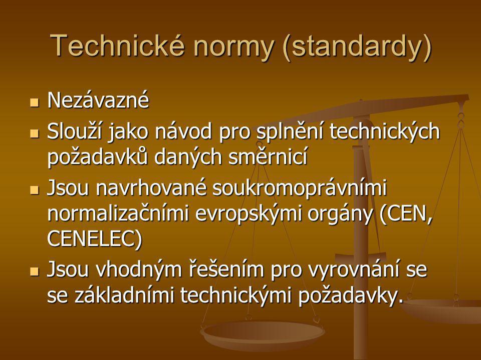 Technické normy (standardy)