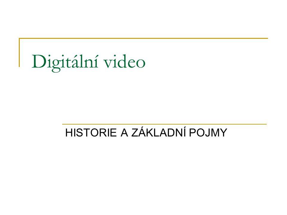 HISTORIE A ZÁKLADNÍ POJMY