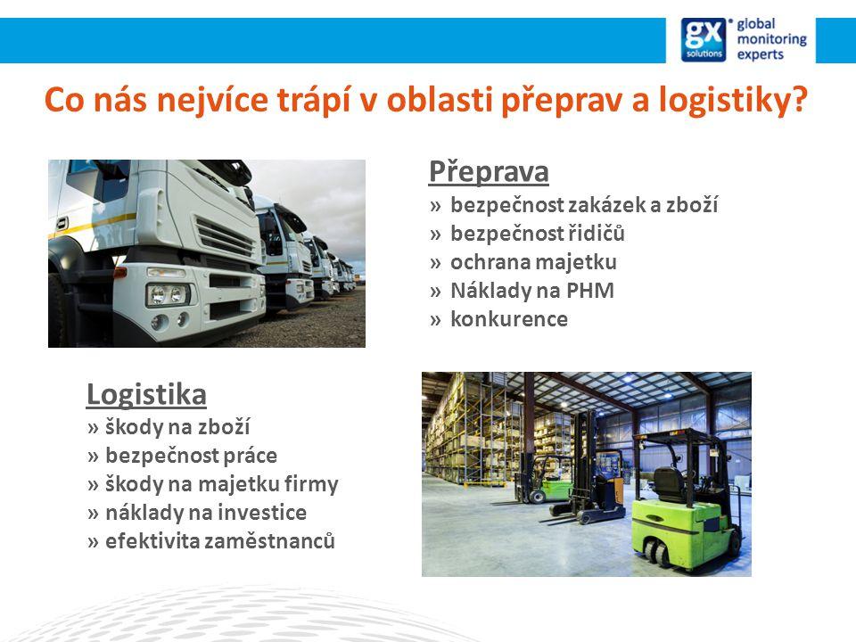 Co nás nejvíce trápí v oblasti přeprav a logistiky