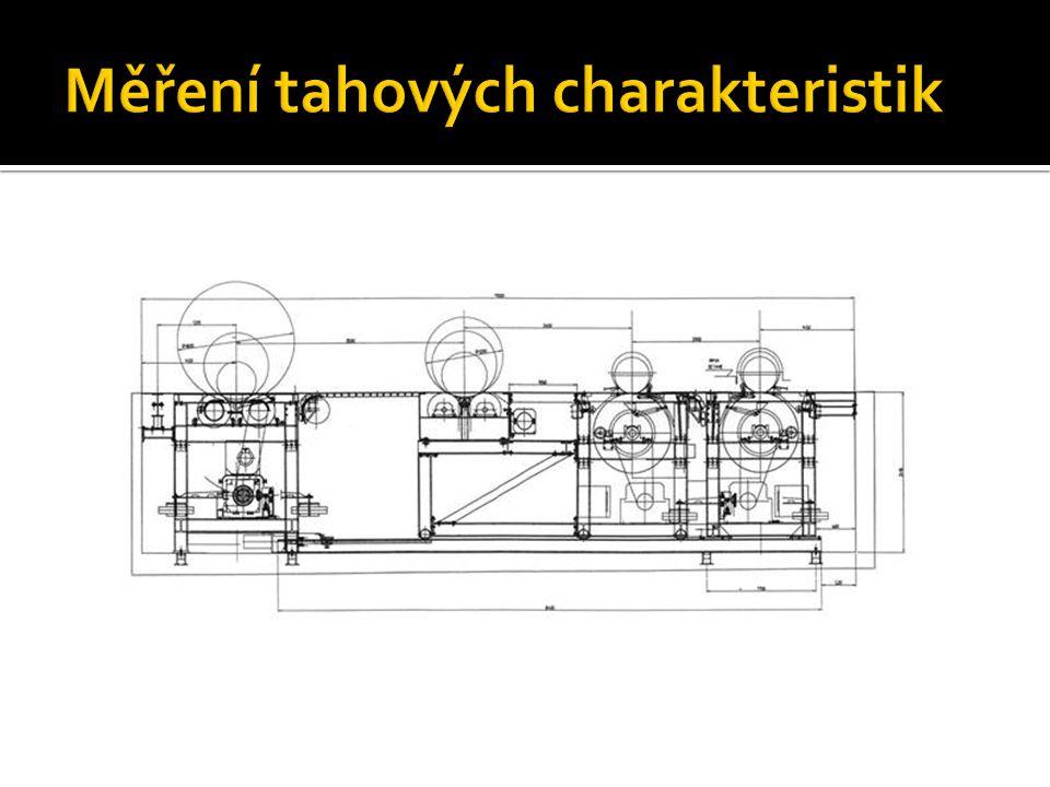 Měření tahových charakteristik