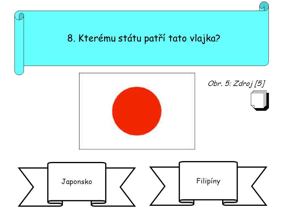 8. Kterému státu patří tato vlajka