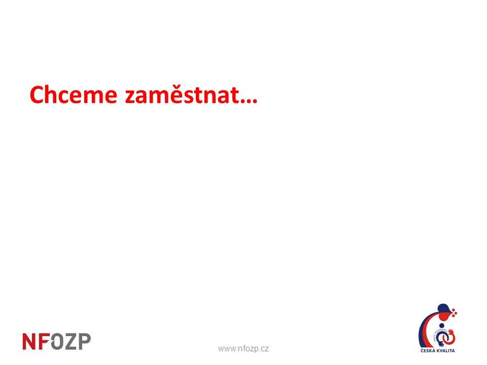 Chceme zaměstnat… www.nfozp.cz